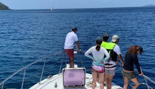 沖縄でマリンレジャー。安全第一で。